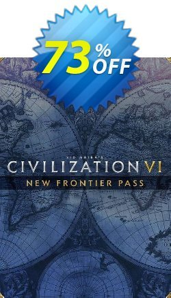 Sid Meier's: Civilization VI - New Frontier Pass PC - DLC - WW  Coupon discount Sid Meier's: Civilization VI - New Frontier Pass PC - DLC (WW) Deal 2021 CDkeys - Sid Meier's: Civilization VI - New Frontier Pass PC - DLC (WW) Exclusive Sale offer for iVoicesoft