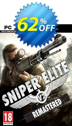 Sniper Elite V2 Remastered PC Coupon discount Sniper Elite V2 Remastered PC Deal 2021 CDkeys - Sniper Elite V2 Remastered PC Exclusive Sale offer for iVoicesoft