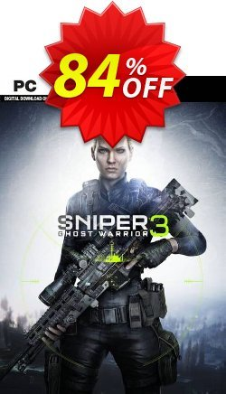 Sniper Ghost Warrior 3 PC Coupon discount Sniper Ghost Warrior 3 PC Deal 2021 CDkeys - Sniper Ghost Warrior 3 PC Exclusive Sale offer for iVoicesoft