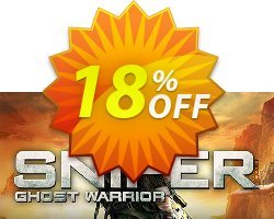 Sniper Ghost Warrior PC Coupon discount Sniper Ghost Warrior PC Deal 2021 CDkeys - Sniper Ghost Warrior PC Exclusive Sale offer for iVoicesoft
