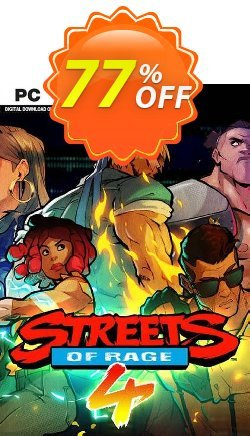 Streets of Rage 4 PC Coupon discount Streets of Rage 4 PC Deal 2021 CDkeys - Streets of Rage 4 PC Exclusive Sale offer for iVoicesoft