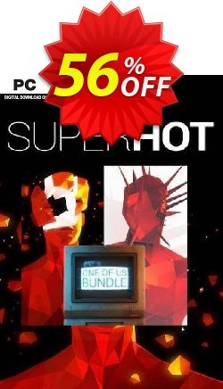 SUPERHOT ONE OF US BUNDLE PC Coupon discount SUPERHOT ONE OF US BUNDLE PC Deal 2021 CDkeys - SUPERHOT ONE OF US BUNDLE PC Exclusive Sale offer for iVoicesoft