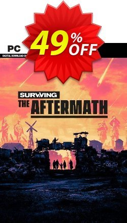 Surviving the Aftermath PC Coupon discount Surviving the Aftermath PC Deal 2021 CDkeys. Promotion: Surviving the Aftermath PC Exclusive Sale offer for iVoicesoft
