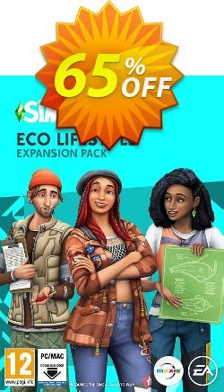 The Sims 4 - Eco Lifestyle PC Coupon discount The Sims 4 - Eco Lifestyle PC Deal 2021 CDkeys - The Sims 4 - Eco Lifestyle PC Exclusive Sale offer for iVoicesoft