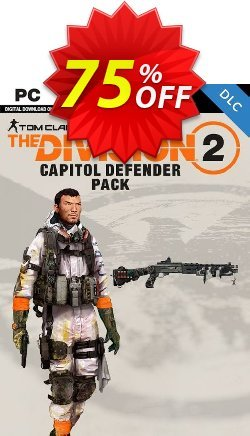 Tom Clancys The Division 2 PC - Capitol Defender Pack DLC Coupon discount Tom Clancys The Division 2 PC - Capitol Defender Pack DLC Deal 2021 CDkeys - Tom Clancys The Division 2 PC - Capitol Defender Pack DLC Exclusive Sale offer for iVoicesoft