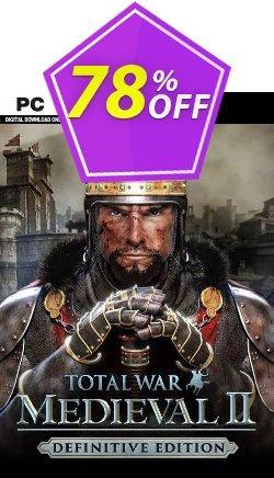 Total War: Medieval II  - Definitive Edition PC - EU  Coupon discount Total War: Medieval II  - Definitive Edition PC (EU) Deal 2021 CDkeys - Total War: Medieval II  - Definitive Edition PC (EU) Exclusive Sale offer for iVoicesoft