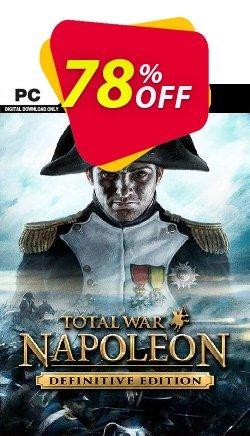 Total War: Napoleon - Definitive Edition PC - EU  Coupon discount Total War: Napoleon - Definitive Edition PC (EU) Deal 2021 CDkeys - Total War: Napoleon - Definitive Edition PC (EU) Exclusive Sale offer for iVoicesoft