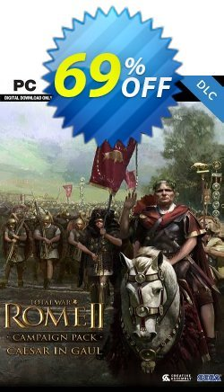 Total War: ROME II  - Caesar in Gaul Campaign Pack PC-DLC - EU  Coupon discount Total War: ROME II  - Caesar in Gaul Campaign Pack PC-DLC (EU) Deal 2021 CDkeys - Total War: ROME II  - Caesar in Gaul Campaign Pack PC-DLC (EU) Exclusive Sale offer for iVoicesoft