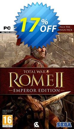 Total War Rome II 2 - Emperors Edition PC Coupon discount Total War Rome II 2 - Emperors Edition PC Deal 2021 CDkeys - Total War Rome II 2 - Emperors Edition PC Exclusive Sale offer for iVoicesoft