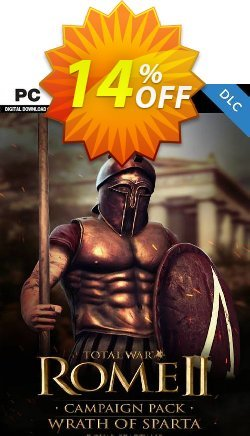 Total War: ROME II - Wrath of Sparta Campaign Pack PC - DLC - EU  Coupon discount Total War: ROME II - Wrath of Sparta Campaign Pack PC - DLC (EU) Deal 2021 CDkeys - Total War: ROME II - Wrath of Sparta Campaign Pack PC - DLC (EU) Exclusive Sale offer for iVoicesoft