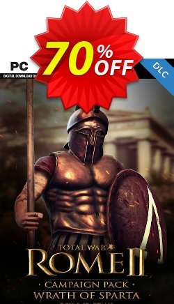 Total War: ROME II  - Wrath of Sparta Campaign Pack PC - DLC Coupon discount Total War: ROME II  - Wrath of Sparta Campaign Pack PC - DLC Deal 2021 CDkeys - Total War: ROME II  - Wrath of Sparta Campaign Pack PC - DLC Exclusive Sale offer for iVoicesoft