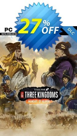Total War: Three Kingdoms - Mandate of Heaven PC - DLC - WW  Coupon discount Total War: Three Kingdoms - Mandate of Heaven PC - DLC (WW) Deal 2021 CDkeys - Total War: Three Kingdoms - Mandate of Heaven PC - DLC (WW) Exclusive Sale offer for iVoicesoft
