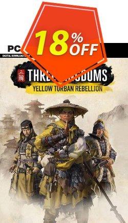 Total War: Three Kingdoms - Yellow Turban Rebellion PC - DLC - WW  Coupon discount Total War: Three Kingdoms - Yellow Turban Rebellion PC - DLC (WW) Deal 2021 CDkeys. Promotion: Total War: Three Kingdoms - Yellow Turban Rebellion PC - DLC (WW) Exclusive Sale offer for iVoicesoft