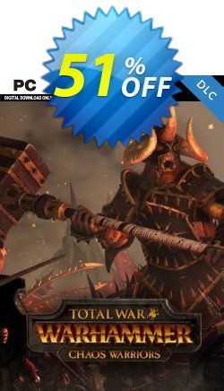 Total War: Warhammer - Chaos Warriors DLC Coupon discount Total War: Warhammer - Chaos Warriors DLC Deal 2021 CDkeys - Total War: Warhammer - Chaos Warriors DLC Exclusive Sale offer for iVoicesoft