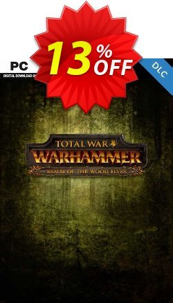Total War Warhammer PC - Realm of the Wood Elves DLC - EU  Coupon discount Total War Warhammer PC - Realm of the Wood Elves DLC (EU) Deal 2021 CDkeys - Total War Warhammer PC - Realm of the Wood Elves DLC (EU) Exclusive Sale offer for iVoicesoft