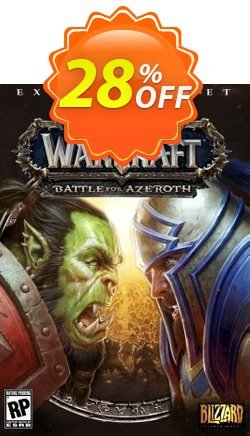 World of Warcraft - WoW Battle for Azeroth - EU  Coupon discount World of Warcraft (WoW) Battle for Azeroth (EU) Deal - World of Warcraft (WoW) Battle for Azeroth (EU) Exclusive offer for iVoicesoft