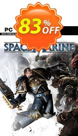 Warhammer 40,000: Space Marine PC Coupon discount Warhammer 40,000: Space Marine PC Deal 2021 CDkeys - Warhammer 40,000: Space Marine PC Exclusive Sale offer for iVoicesoft
