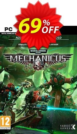 Warhammer 40,000: Mechanicus PC + Bonus Content Coupon discount Warhammer 40,000: Mechanicus PC + Bonus Content Deal 2021 CDkeys - Warhammer 40,000: Mechanicus PC + Bonus Content Exclusive Sale offer for iVoicesoft