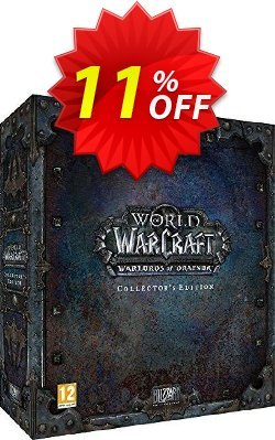 World of Warcraft - WoW : Warlords of Draenor - Collector's Edition PC/Mac Coupon discount World of Warcraft (WoW): Warlords of Draenor - Collector's Edition PC/Mac Deal 2021 CDkeys - World of Warcraft (WoW): Warlords of Draenor - Collector's Edition PC/Mac Exclusive Sale offer for iVoicesoft