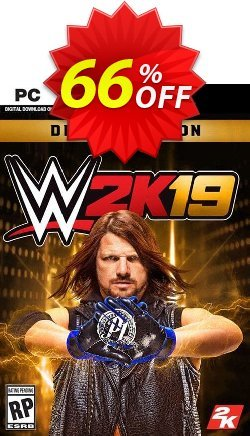 WWE 2K19 Deluxe Edition PC Coupon discount WWE 2K19 Deluxe Edition PC Deal 2021 CDkeys - WWE 2K19 Deluxe Edition PC Exclusive Sale offer for iVoicesoft