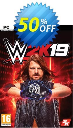 WWE 2K19 PC Coupon discount WWE 2K19 PC Deal 2021 CDkeys - WWE 2K19 PC Exclusive Sale offer for iVoicesoft