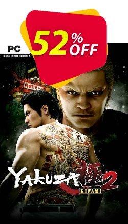 Yakuza Kiwami 2 PC - EU  Coupon discount Yakuza Kiwami 2 PC (EU) Deal 2021 CDkeys - Yakuza Kiwami 2 PC (EU) Exclusive Sale offer for iVoicesoft