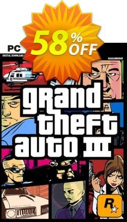 Grand Theft Auto III PC Coupon discount Grand Theft Auto III PC Deal 2021 CDkeys - Grand Theft Auto III PC Exclusive Sale offer for iVoicesoft