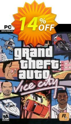 Grand Theft Auto: Vice City PC - Steam  Coupon discount Grand Theft Auto: Vice City PC (Steam) Deal 2021 CDkeys - Grand Theft Auto: Vice City PC (Steam) Exclusive Sale offer for iVoicesoft