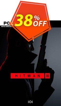 Hitman 3 PC Coupon discount Hitman 3 PC Deal 2021 CDkeys - Hitman 3 PC Exclusive Sale offer for iVoicesoft