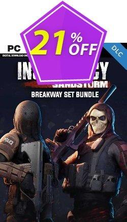 Insurgency: Sandstorm - Breakaway Set Bundle PC - DLC Coupon discount Insurgency: Sandstorm - Breakaway Set Bundle PC - DLC Deal 2021 CDkeys - Insurgency: Sandstorm - Breakaway Set Bundle PC - DLC Exclusive Sale offer for iVoicesoft
