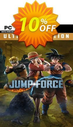 JUMP FORCE - Ultimate Edition PC - EMEA  Coupon discount JUMP FORCE - Ultimate Edition PC (EMEA) Deal 2021 CDkeys - JUMP FORCE - Ultimate Edition PC (EMEA) Exclusive Sale offer for iVoicesoft