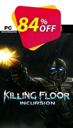 Killing Floor Incursion PC Coupon discount Killing Floor Incursion PC Deal 2021 CDkeys - Killing Floor Incursion PC Exclusive Sale offer for iVoicesoft