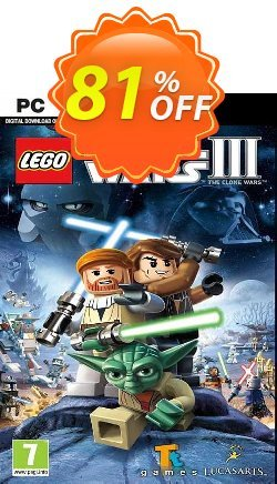LEGO Star Wars III: The Clone Wars PC Coupon discount LEGO Star Wars III: The Clone Wars PC Deal 2021 CDkeys - LEGO Star Wars III: The Clone Wars PC Exclusive Sale offer for iVoicesoft