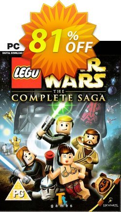LEGO Star Wars - The Complete Saga PC Coupon discount LEGO Star Wars - The Complete Saga PC Deal 2021 CDkeys - LEGO Star Wars - The Complete Saga PC Exclusive Sale offer for iVoicesoft