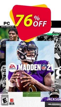 Madden NFL 21 PC - EN  Coupon discount Madden NFL 21 PC (EN) Deal 2021 CDkeys - Madden NFL 21 PC (EN) Exclusive Sale offer for iVoicesoft