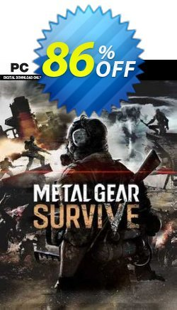 Metal Gear Survive PC Coupon discount Metal Gear Survive PC Deal 2021 CDkeys - Metal Gear Survive PC Exclusive Sale offer for iVoicesoft