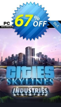 Cities Skylines PC - Industries DLC Coupon discount Cities Skylines PC - Industries DLC Deal - Cities Skylines PC - Industries DLC Exclusive offer for iVoicesoft