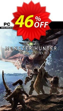 Monster Hunter World PC - EU  Coupon discount Monster Hunter World PC (EU) Deal 2021 CDkeys - Monster Hunter World PC (EU) Exclusive Sale offer for iVoicesoft