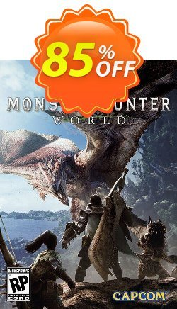 Monster Hunter World PC Coupon discount Monster Hunter World PC Deal 2021 CDkeys - Monster Hunter World PC Exclusive Sale offer for iVoicesoft