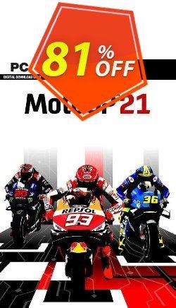 MotoGP 21 PC Coupon discount MotoGP 21 PC Deal 2021 CDkeys. Promotion: MotoGP 21 PC Exclusive Sale offer for iVoicesoft