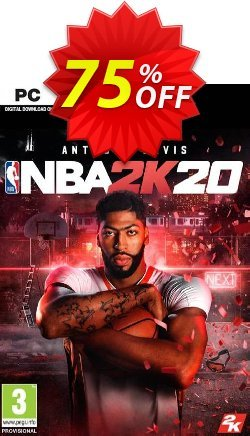 NBA 2K20 PC - EU  Coupon discount NBA 2K20 PC (EU) Deal 2021 CDkeys - NBA 2K20 PC (EU) Exclusive Sale offer for iVoicesoft