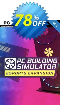 PC Building Simulator - Esports PC - DLC Coupon discount PC Building Simulator - Esports PC - DLC Deal 2021 CDkeys - PC Building Simulator - Esports PC - DLC Exclusive Sale offer for iVoicesoft