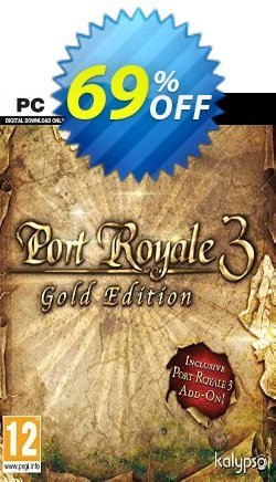 Port Royale 3 GOLD PC Coupon discount Port Royale 3 GOLD PC Deal 2021 CDkeys - Port Royale 3 GOLD PC Exclusive Sale offer for iVoicesoft