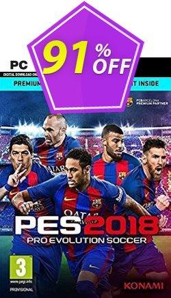 Pro Evolution Soccer 2018 Premium Edition PC - EU  Coupon discount Pro Evolution Soccer 2018 Premium Edition PC (EU) Deal 2021 CDkeys - Pro Evolution Soccer 2018 Premium Edition PC (EU) Exclusive Sale offer for iVoicesoft