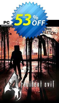 Resident Evil 4 Ultimate HD Edition PC - EU  Coupon discount Resident Evil 4 Ultimate HD Edition PC (EU) Deal 2021 CDkeys - Resident Evil 4 Ultimate HD Edition PC (EU) Exclusive Sale offer for iVoicesoft