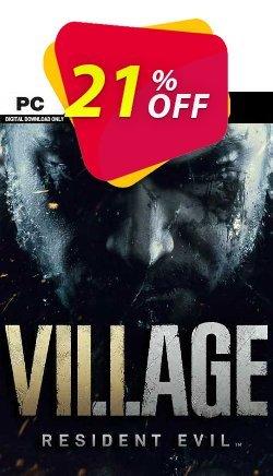 Resident Evil Village PC - EU  Coupon discount Resident Evil Village PC (EU) Deal 2021 CDkeys - Resident Evil Village PC (EU) Exclusive Sale offer for iVoicesoft