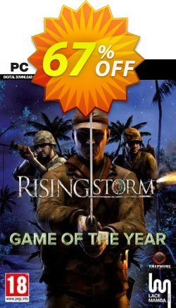 Rising Storm: Game of the Year Edition PC Coupon discount Rising Storm: Game of the Year Edition PC Deal 2021 CDkeys - Rising Storm: Game of the Year Edition PC Exclusive Sale offer for iVoicesoft