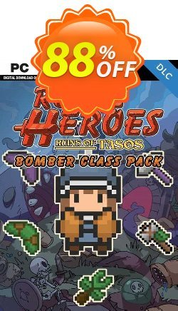 Rogue Heroes Ruins of Tasos Bomber Class Pack PC - DLC Coupon discount Rogue Heroes Ruins of Tasos Bomber Class Pack PC - DLC Deal 2021 CDkeys - Rogue Heroes Ruins of Tasos Bomber Class Pack PC - DLC Exclusive Sale offer for iVoicesoft