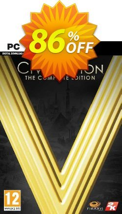 Sid Meier's Civilization V: Complete Edition PC - EU  Coupon discount Sid Meier's Civilization V: Complete Edition PC (EU) Deal 2021 CDkeys - Sid Meier's Civilization V: Complete Edition PC (EU) Exclusive Sale offer for iVoicesoft