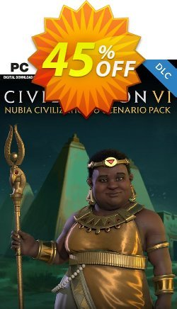 Sid Meier's Civilization VI 6: Nubia Civilization and Scenario Pack PC - WW  Coupon discount Sid Meier's Civilization VI 6: Nubia Civilization and Scenario Pack PC (WW) Deal 2021 CDkeys - Sid Meier's Civilization VI 6: Nubia Civilization and Scenario Pack PC (WW) Exclusive Sale offer for iVoicesoft